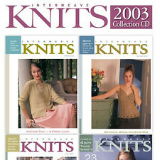 4 Issues on CD: INTERWEAVE KNITS MAGAZINE 2003 Complete