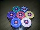 NEW DESIGN! 25 x EPT Ceramic Poker Chips - Casino Quality