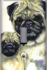 PUG DOGS - PUG DOGS HOME DECOR SINGLE LIGHT SWITCH PLATE COVER