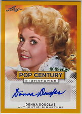 "2013 POP CENTURY AUTO: DONNA DOUGLAS #1/1 OF ONE AUTOGRAPH ""BEVERLY HILLBILLIES"""