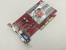 256mb ATI Radeon 9550 tarjeta gráfica AGP 256 MB DVI D-sub tarjeta gráfica * nuevo *
