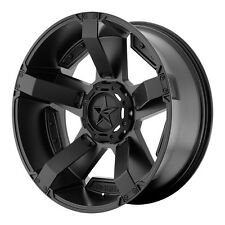 """17"""" KMC XD XD811 Rockstar II Wheel - Black 17x8 5x127 5x139.7 +10 XD81178035710"""