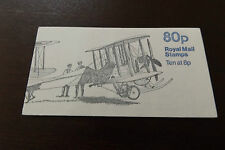 GB QEII FOLDED BOOKLET FE1A LEFT SELVEDGE 1979 MILITARY AIRCRAFT SERIES