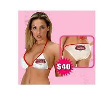 STELLA ARTOIS BEER 2 PIECE BIKINI SWIMSUITE MED 5 6 NEW