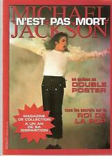 MICHAEL JACKSON MAGAZINE SPECIAL COLLECTOR 36 PAGES+POSTER  NEUF