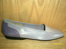 NEW ENZO ANGIOLINI WOMENS LIBERTY LAVENDER/MULTI LEATHER FLAT SHOE 7 1/2 N