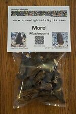 1 Ounce Dried Morel Mushrooms Moonlight's Delights Top Grade Restaurant Quality