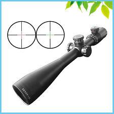 10-40X50 Glass Mil Dot Reticle Rifle Scopes Long Range Riflescope w/ 20mm Mount