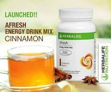 Herbalife Afresh CINNAMON Flavour Energy Drink Mix (50g) Herbal Tea Free Ship