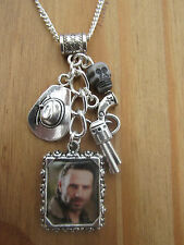 THE WALKING DEAD RICK GRIMES CHARMS NECKLACE