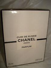 CHANEL CUIR THE RUSSIE  PARFUM .5 oz  sealed in box BNIB