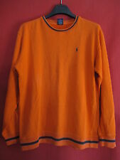 Sweat Ralph Lauren TBE Manche Longue Orange Femme ou enfant - XL