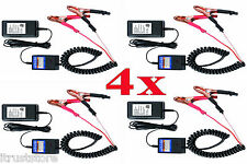 12v Battery Maintainer Maintaining Charger Tender Trickle 12 Volt Boat Car 4 pc
