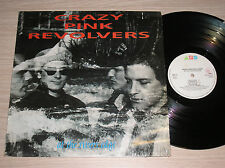 CRAZY PINK REVOLVERS - AT THE RIVERS EDGE - LP 33 GIRI ITALY
