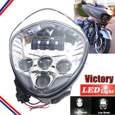 Motorcycle Led Headlight for Victory 10-16 Cross Models 07-16 Cruisers Head lamp