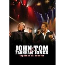 JOHN FARNHAM & TOM JONES TOGETHER IN CONCERT DVD ALL REGIONS PAL NEW