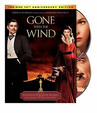 GONE WITH THE WIND - CLARK GABLE - 70th ANNIVERSARY EDITION - 2 DVD SET - EXTRAS