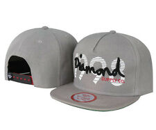 New Fashion Diamond SUPPLY CO Snapback style Baseball Hip-Hop Gray CAP HAT 3#