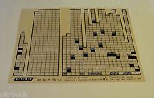 Microfich Ersatzteilkatalog Fiat Tipo Sport 16 V i. e.  Stand 01/1994
