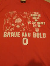"""University of Ohio State Buckeyes Stadium """"Brave and Bold"""" T-Shirt Size Large"""