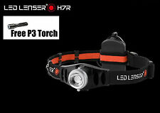 LED LENSER H7R Rechargeable HEAD LAMP & P3 COMBO Pack TORCH FLASHLIGHT US STOCK