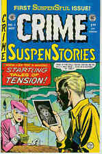 Crime suspenstories # 1 (story sampler, EC réimpressions) (états-unis, 1992)