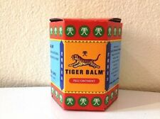 1 x 30g RED TIGER BALM MASSAGE OVER-THE-COUNTER& PAIN RELIEF BIG JAR FREE SHIP
