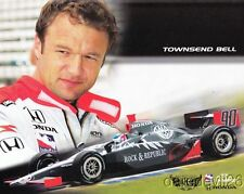 2006 Townsend Bell Rock & Republic Honda Dallara Indy 500 Indy Car postcard