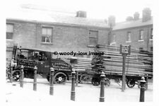 rp17706 - F Parker & Co of Manchester Foden Steam Lorry - photograph 6x4