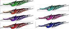 Checkered Flag Racing Boat Car Truck Graphics Decal Vinyl Stickers Wrap
