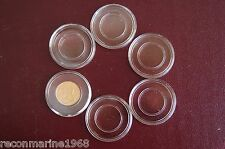 5 Airtite Direct Fit A16 Coin Holders 1/10 oz Gold South African Krugerrand 16mm