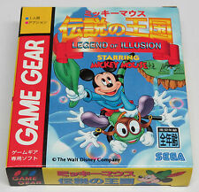Legend Of Illusion Starring Mickey Mouse Game Gear Japón JPN Mundo Nuevo
