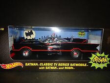 Hot Wheels Batmobile 1966 with Batman and Robin figures 1/18 DJJ39 ss1