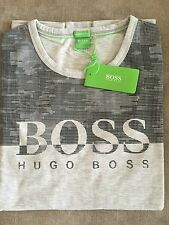 Hugo Boss t-shirt Top size 3XL XXXL Men's BNWT NEW Grey NEW *green label*