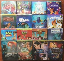 Lot 5 Disney DVDs: Zootopia, Mulan, Toy Story 1,2,3, Pocahontas,Frozen and more