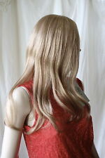 Brand New Trendco Diamond London Human Hair Long Wig in Mid Golden Blonde