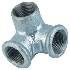 "Galvanised Iron Pipe Fittings - 3/4"" BSP Double Female Outlet"