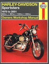 Harley Davidson Sportsters 1970-2000 (Haynes Owners Workshop Manual Se-ExLibrary