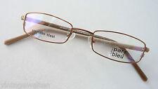 Par Bleu Brillenfassung St.Steel-Rahmen Kunststoffbügel schmale Lesebrille GR:S