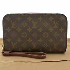 Authentic LOUIS VUITTON Orsay Men's Clutch Bag Monogram Canvas M51790 #K161089