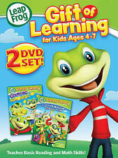 LeapFrog: Gift of Learning - For Kids Ages 4-7 (DVD, 2015, 2-Disc Set)