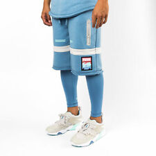 NEW Puma $80 Pink Dolphin Amplitude Evo Dry Cell Blue Heaven Short Tights size L