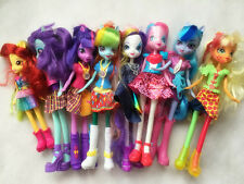 "Hasbro My Little Pony Equestria Girls Random Lots of 3 Dolls 9"" Figures Loose"
