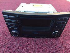 MERCEDES W211 E320 E55 E550 COMMAND STEREO RADIO NON NAVIGATION TYPE CASSETT OEM