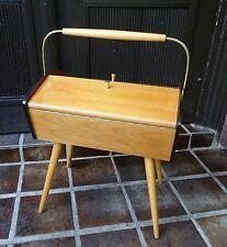 Shabby chic - Kleiner Tisch Nähtisch mid century design Sputnik  ~60er