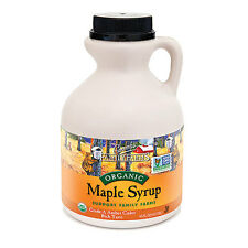 Coombs Family Farms Organic Maple Syrup Grade A Amber 16oz, exp 2018