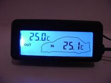 Digital LCD Display Auto Car Home Indoor Outdoor Temperature Thermometer NEW