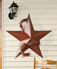 "36"" Metal Rustic Dimensional Barn Star Indoor Outdoor BUY ANY 2 ITEMS & SAVE $5"