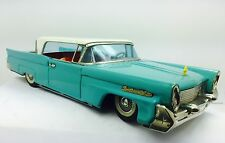 1958 Tin Litho Lincoln Continental Mark III Bandai Japan Friction