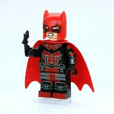 A1312 Lego CUSTOM PRINTED Arkham Game INSPIRED BATPOOL MINIFIG Deadpool Batman